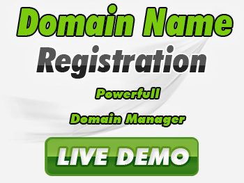 Popularly priced domain name registration